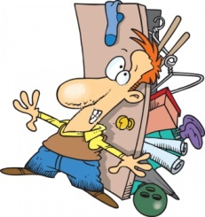 0511-0906-1516-4430_man_trying_to_close_the_door_to_a_closet_overflowing_with_stuff_clipart_image