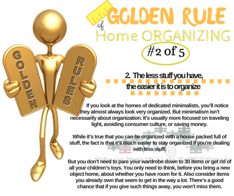 golden-rule-of-home-organizing